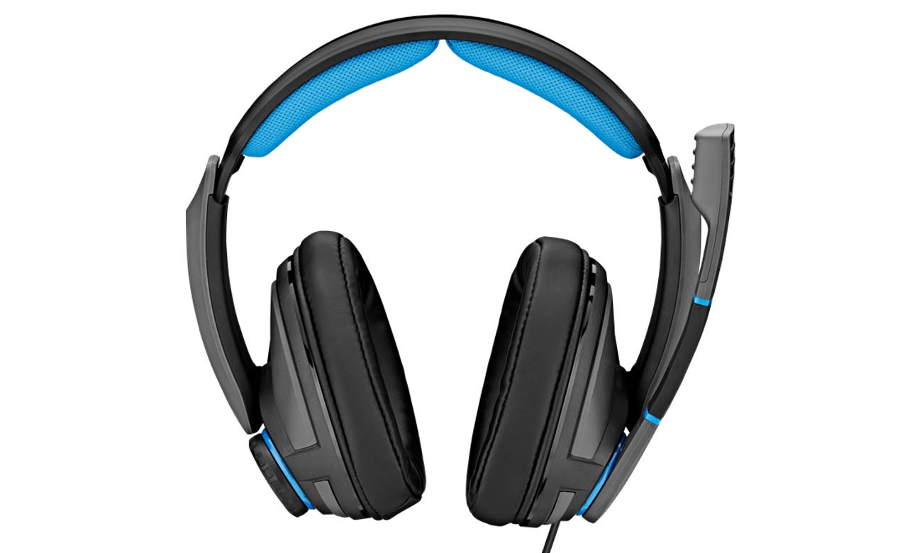 Wygodne słuchawki Sennheiser GSP 300