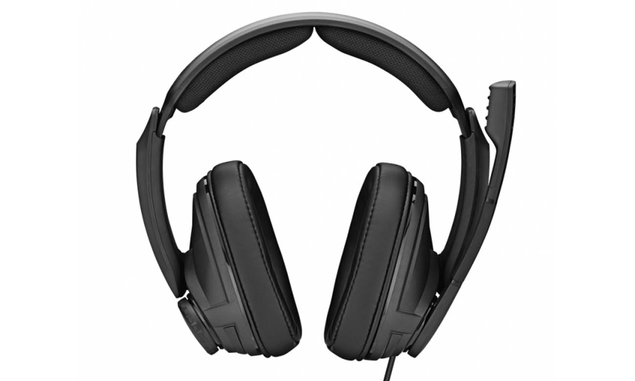 Wygodne słuchawki Sennheiser GSP 302