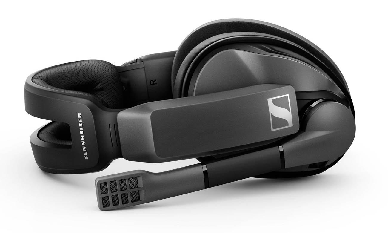 Bezprzewodowe słuchawki gamingowe Sennheiser GSP 370 działają do 100 godzin