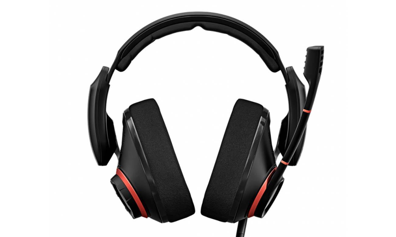 Wygodne słuchawki Sennheiser GSP 500