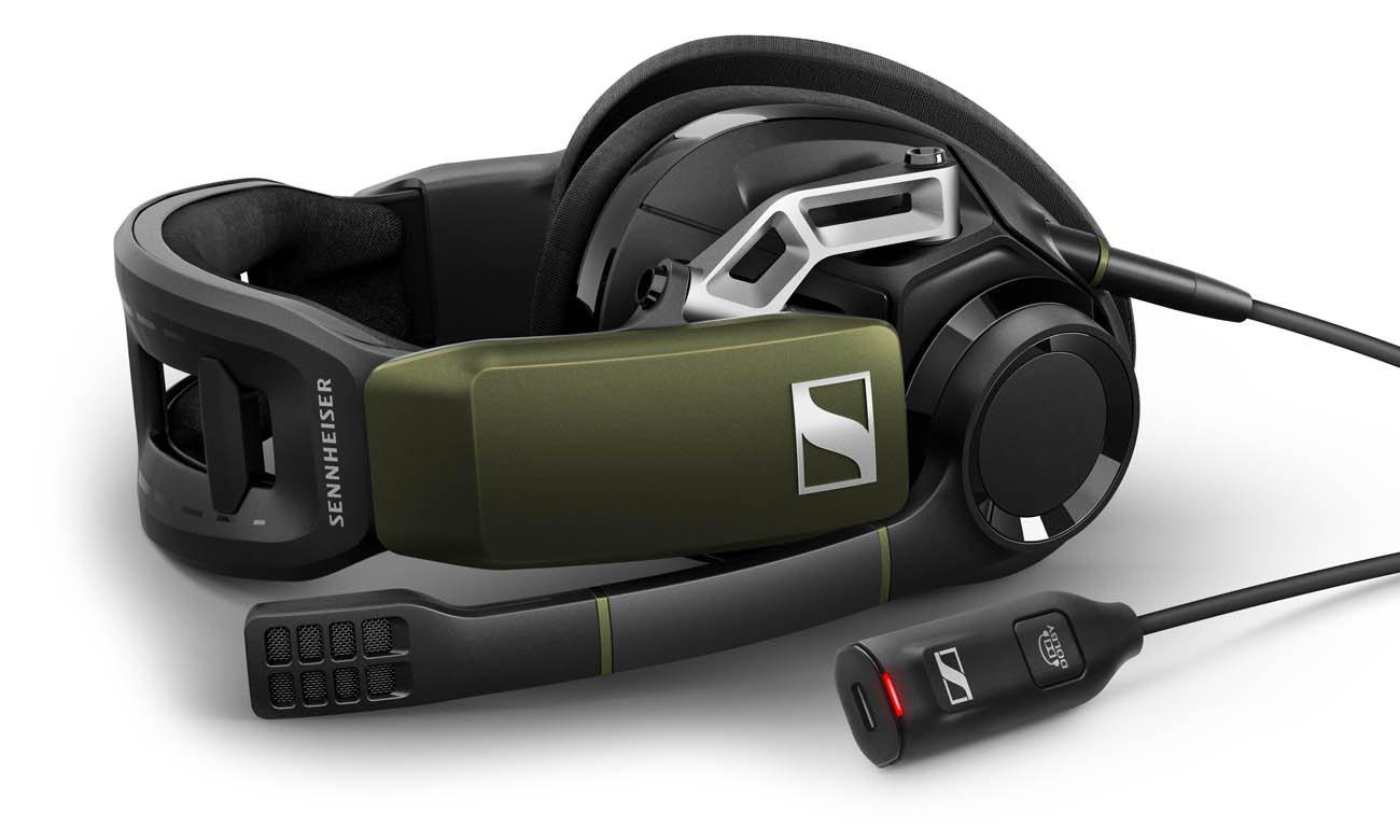 Sennheiser GSP 550 z dźwiękiem przestrzennym Dolby 7.1
