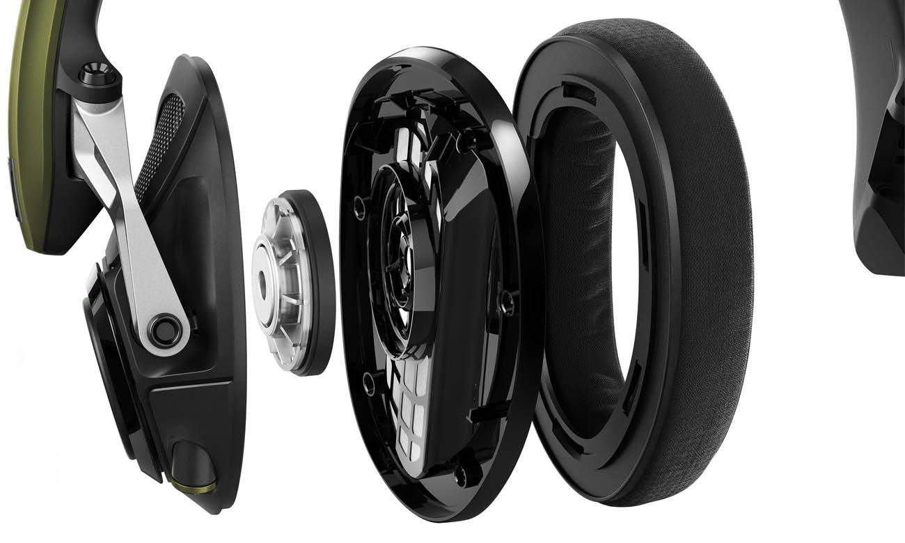 Otwarta konstrukcja słuchawek Sennheiser GSP 550
