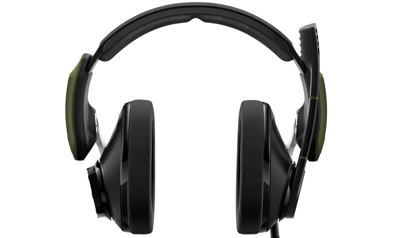 Wygodne słuchawki Sennheiser GSP 550