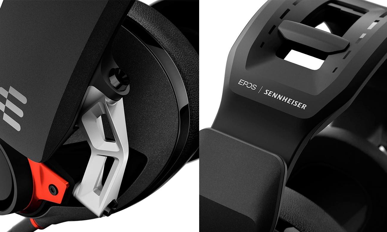 Wygodne słuchawki Sennheiser GSP 600