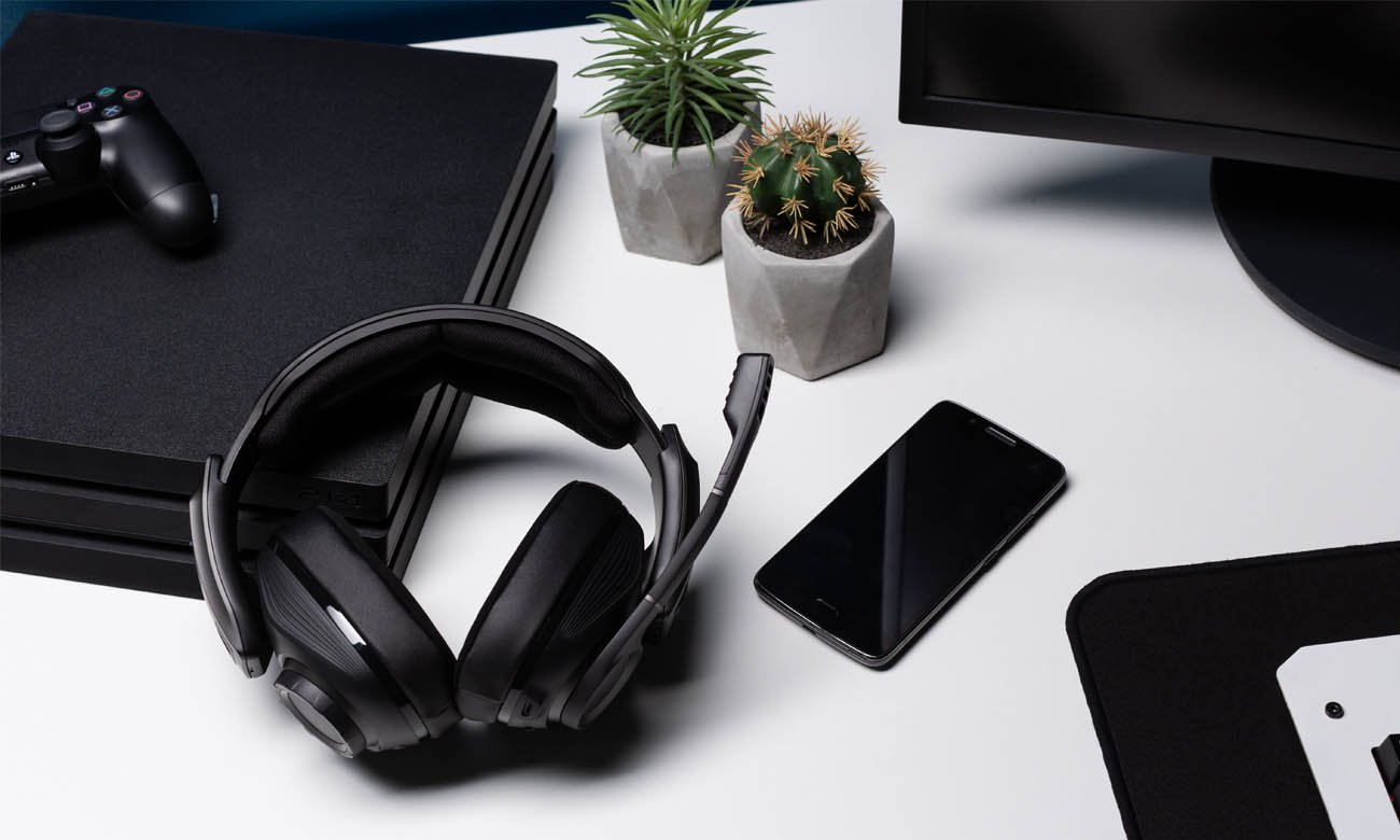 Bezprzewodowe słuchawki gamingowe Sennheiser GSP 670 Bluetooth