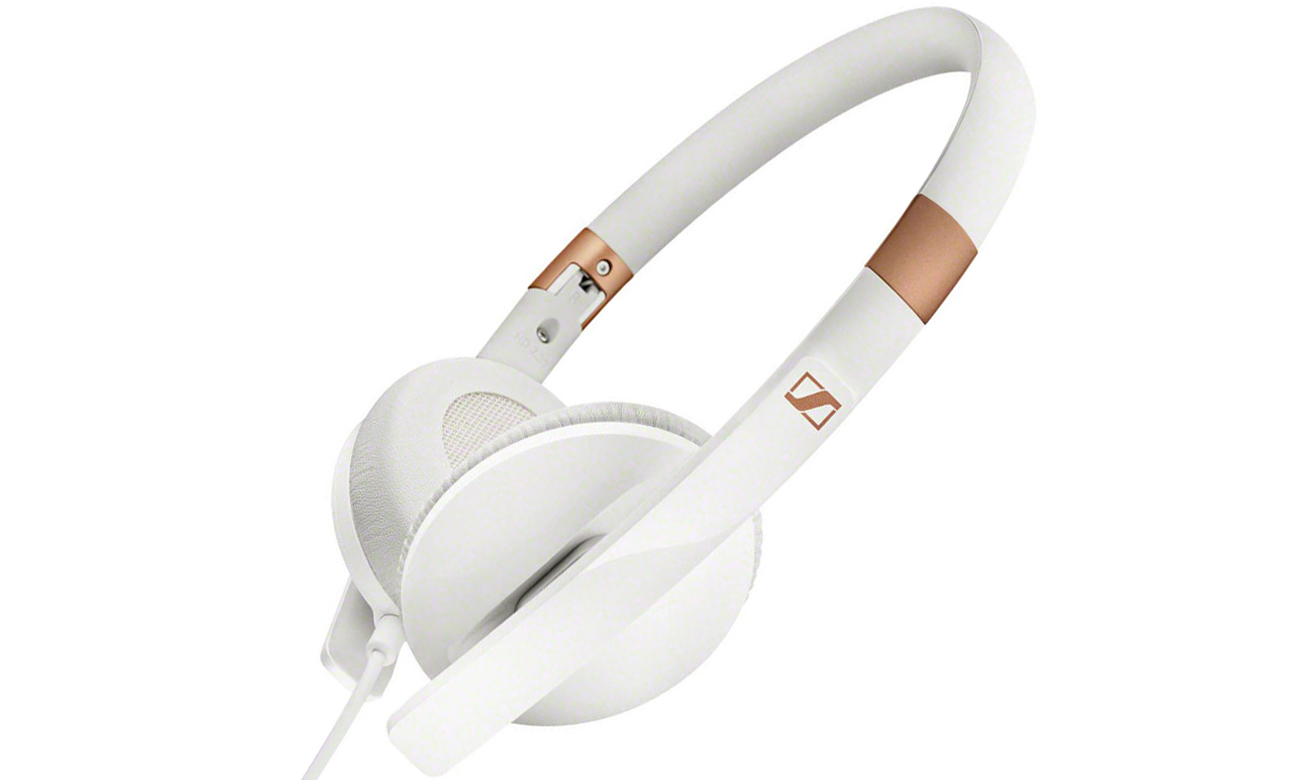 Niewielkie słuchawki nauszne Sennheiser HD 2.30G białe
