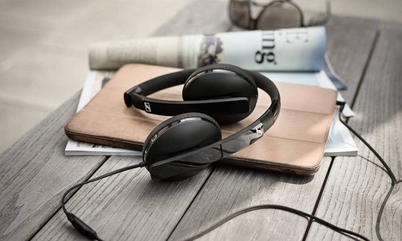 Słuchawki z mikrofonem Apple zamknięte Sennheiser HD 2.30 i