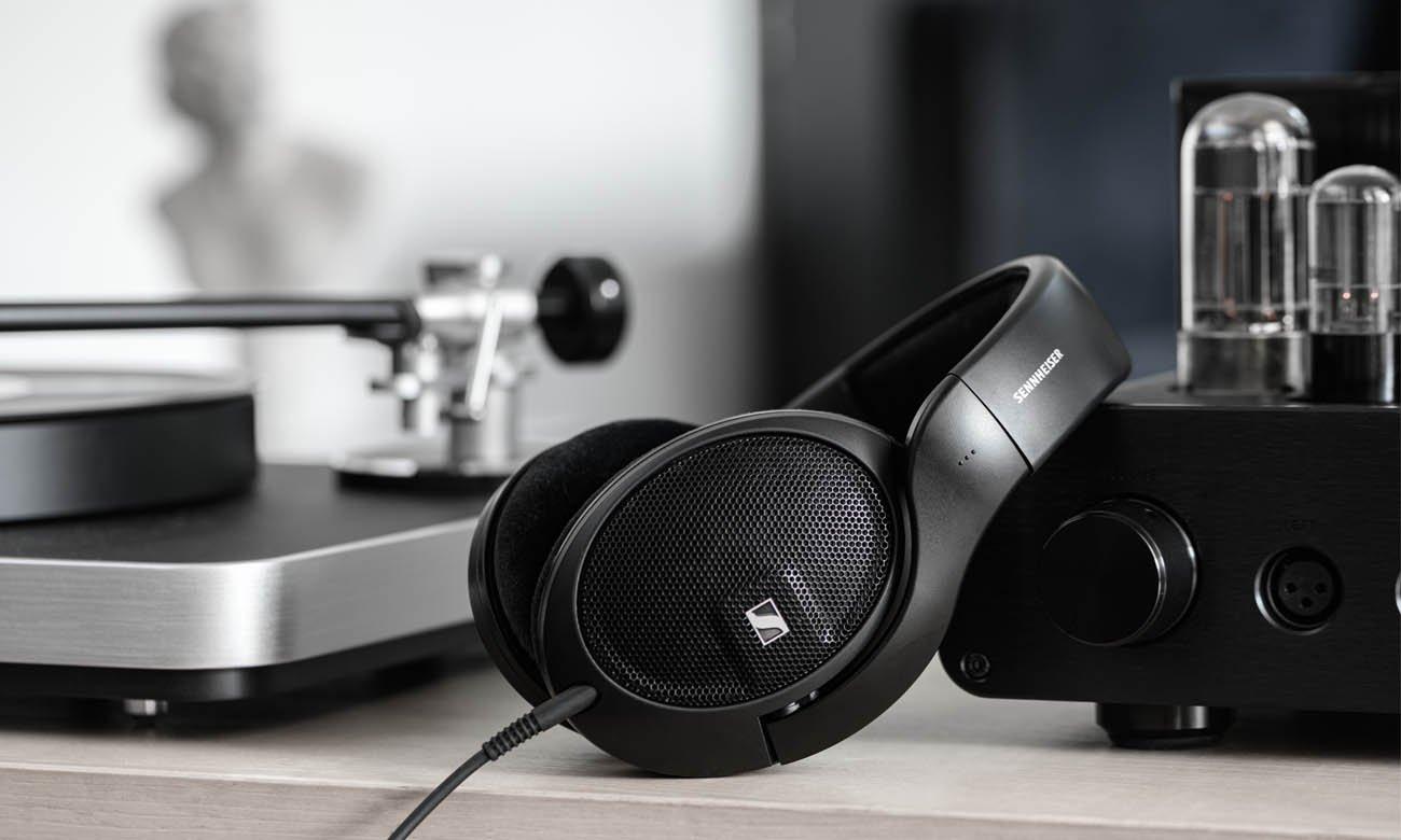 Audiofilskie słuchawki wokółuszne Sennheiser HD 560S