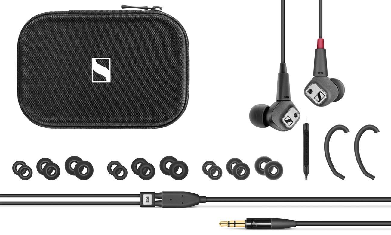Słuchawki dokanałowe Sennheiser IE 80 S - zestaw z piankami Comply