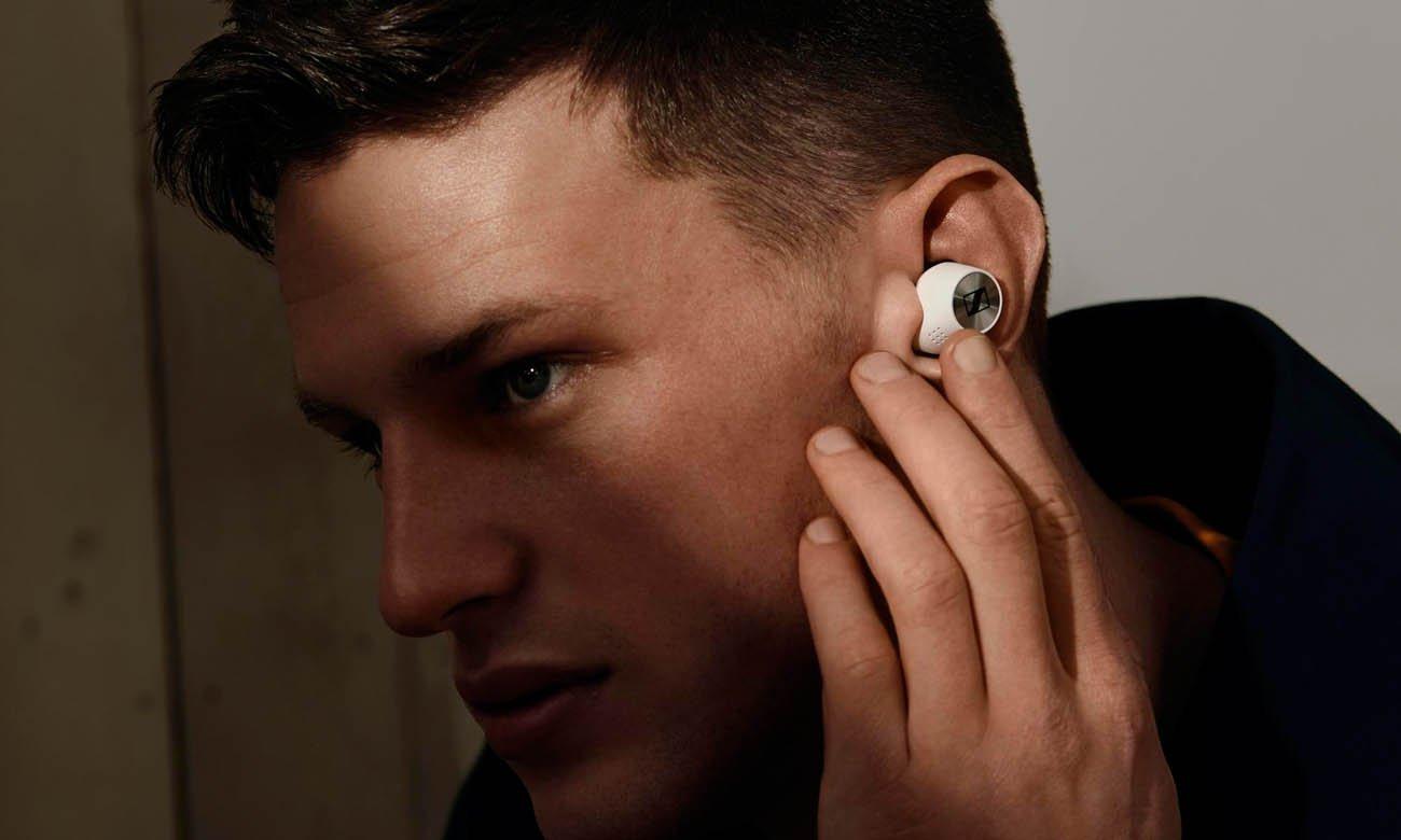 Słuchawki Sennheiser Momentum True Wireless 2 z konfigurowanym panelem dotykowym