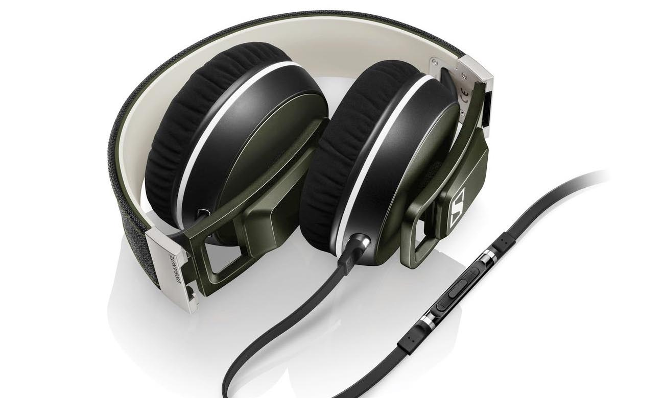 Komfortowe i stylowe słuchawki Sennheiser Urbanite XL Olive