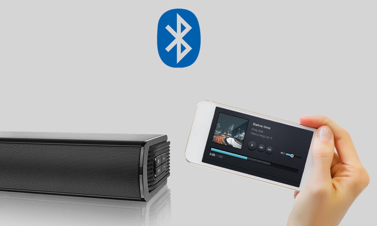 Łączność Bluetooth z listwą głośnikową Sharp HT-SB150
