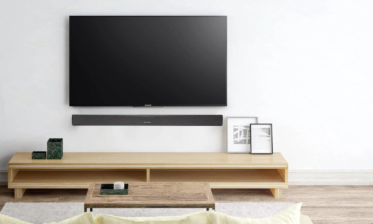 Listwa głośnikowa i głośnik niskotonowy do telewizora Sharp HT-SBW110