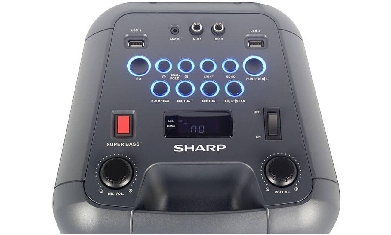 Przenośny sprzęt audio Sharp PS 920