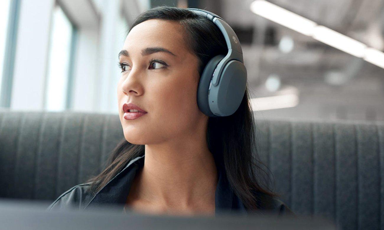 Słuchawki bezprzewodowe z technologią Sensory Bass Skullcandy Crusher EVO S6EVW-N744