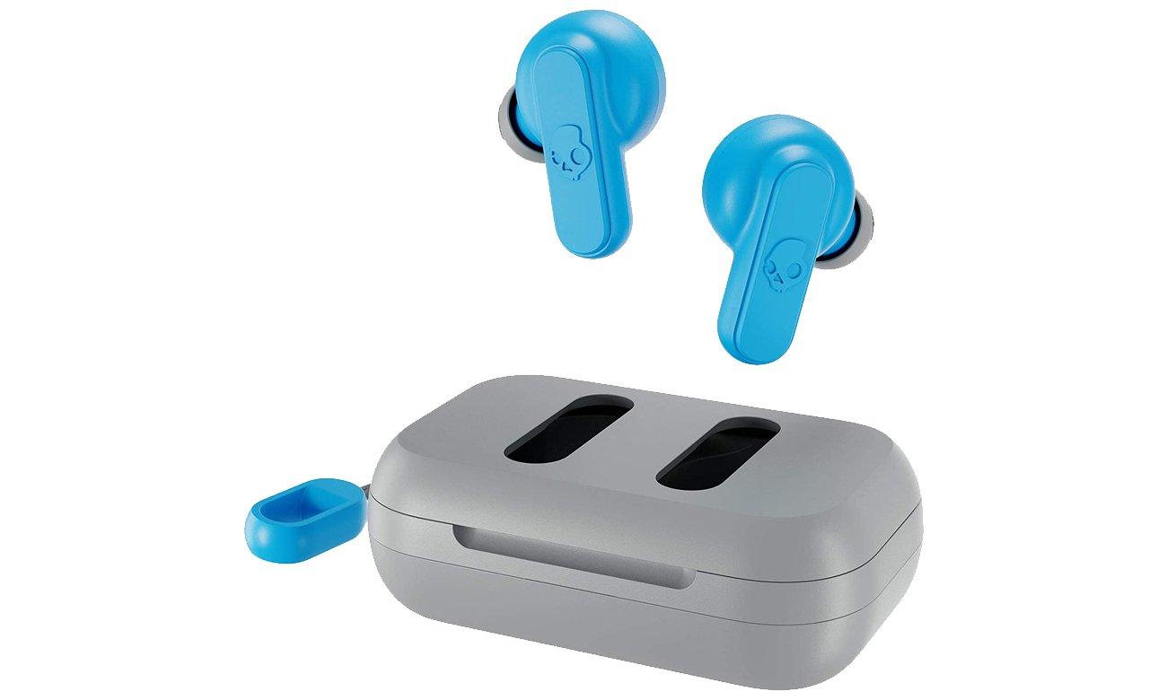 Słuchawki Skullcandy Dime True Wireless Szaro-błękitne