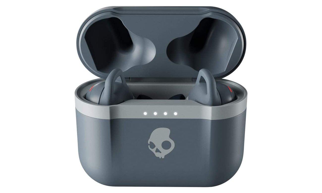 Bezprzewodowe słuchawki dokanałowe z etui ładującym Skullcandy Indy EVO