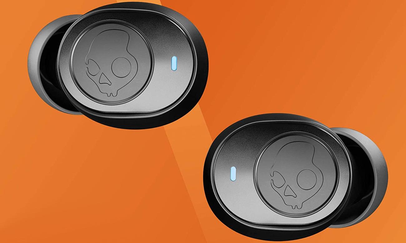 Słuchawki Skullcandy Jib True Wireless Czarno-pomarańczowe