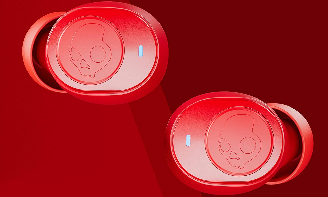 Słuchawki Skullcandy Jib True Wireless Czerwone