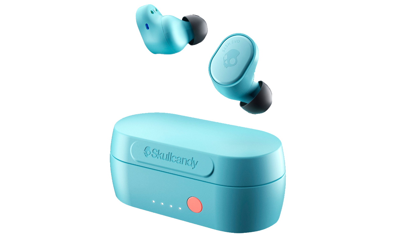 Słuchawki bezprzewodowe Skullcandy Sesh Evo niebieskie