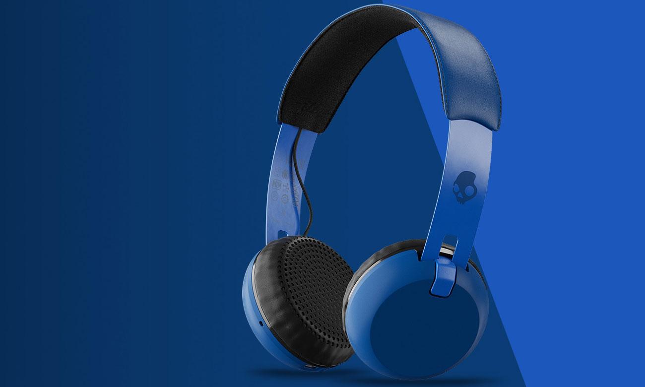 Słuchawki bezprzewodowe Skullcandy Grind Wireless niebieskie