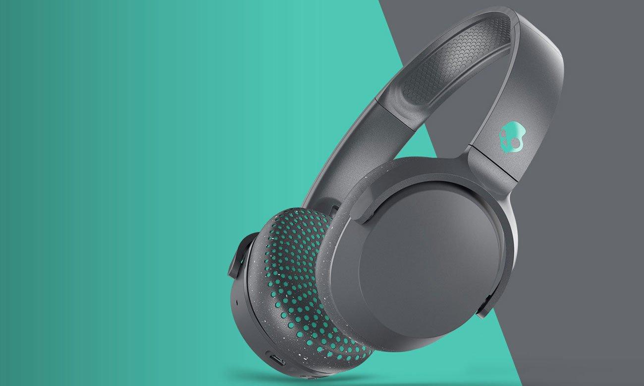 Słuchawki bezprzewodowe Skullcandy Riff Wireless szare