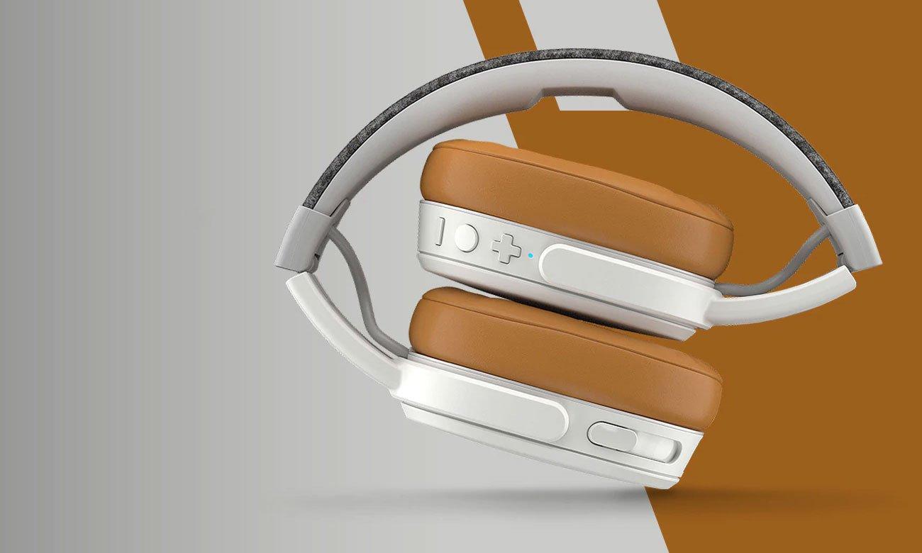 Wokółuszne słuchawki bezprzewodowe Skullcandy Crusher 3.0 Wireless białe