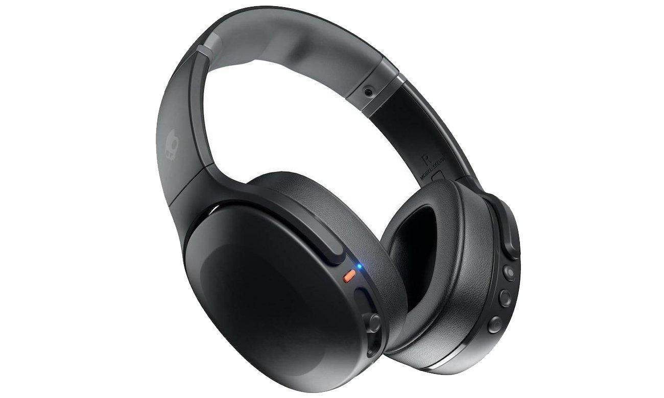 Wokółuszne słuchawki bezprzewodowe Skullcandy Crusher EVO czarne S6EVW-N740