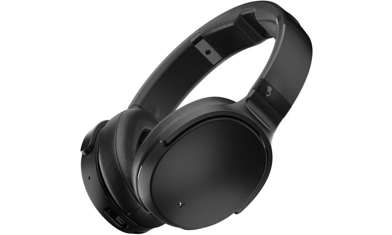 Wokółuszne słuchawki bezprzewodowe Skullcandy Venue czarne