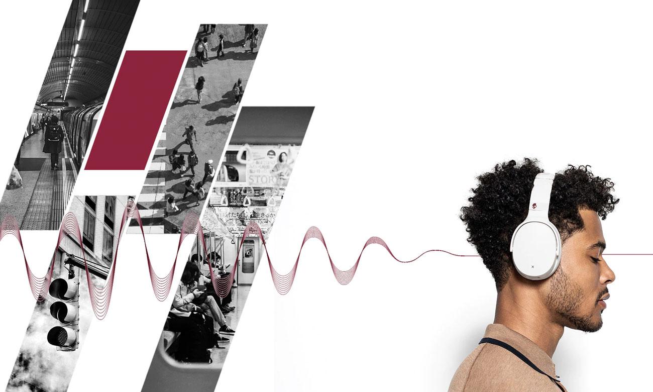 Słuchawki bezprzewodowe z redukcją hałasów Skullcandy Venue