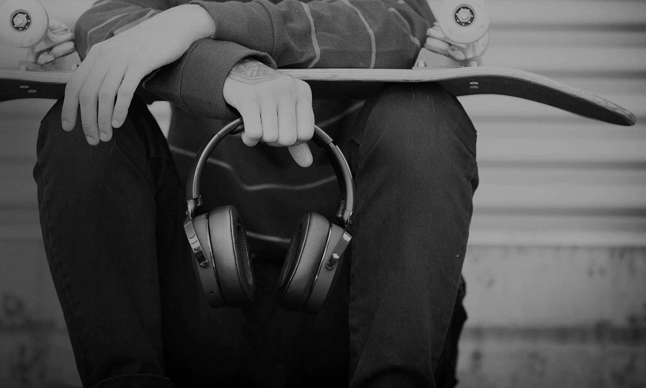 Wokółuszne słuchawki bezprzewodowe Skullcandy Hesh 3 czarne