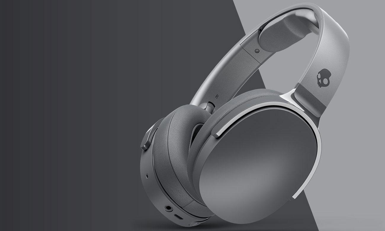 Wokółuszne słuchawki bezprzewodowe Skullcandy Hesh 3 szare