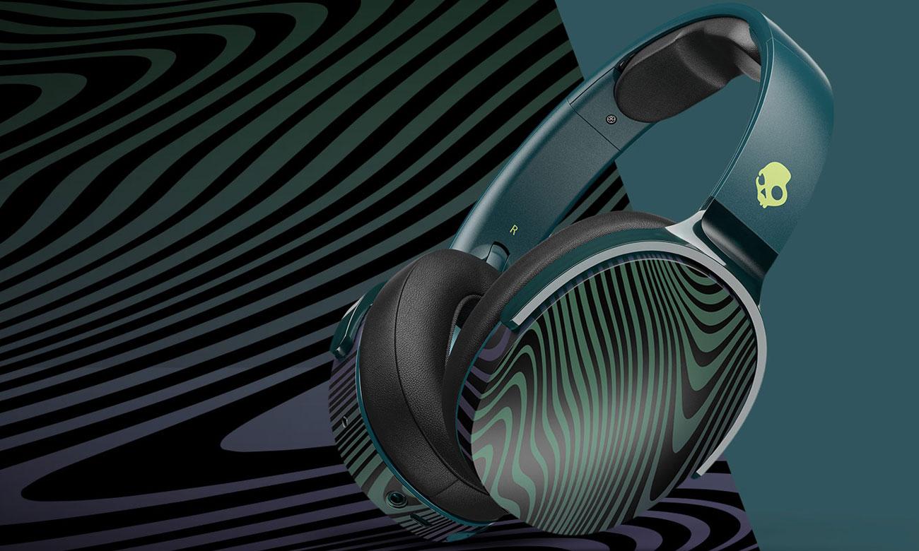 Wokółuszne słuchawki bezprzewodowe Skullcandy Hesh 3 Psycho Tropical