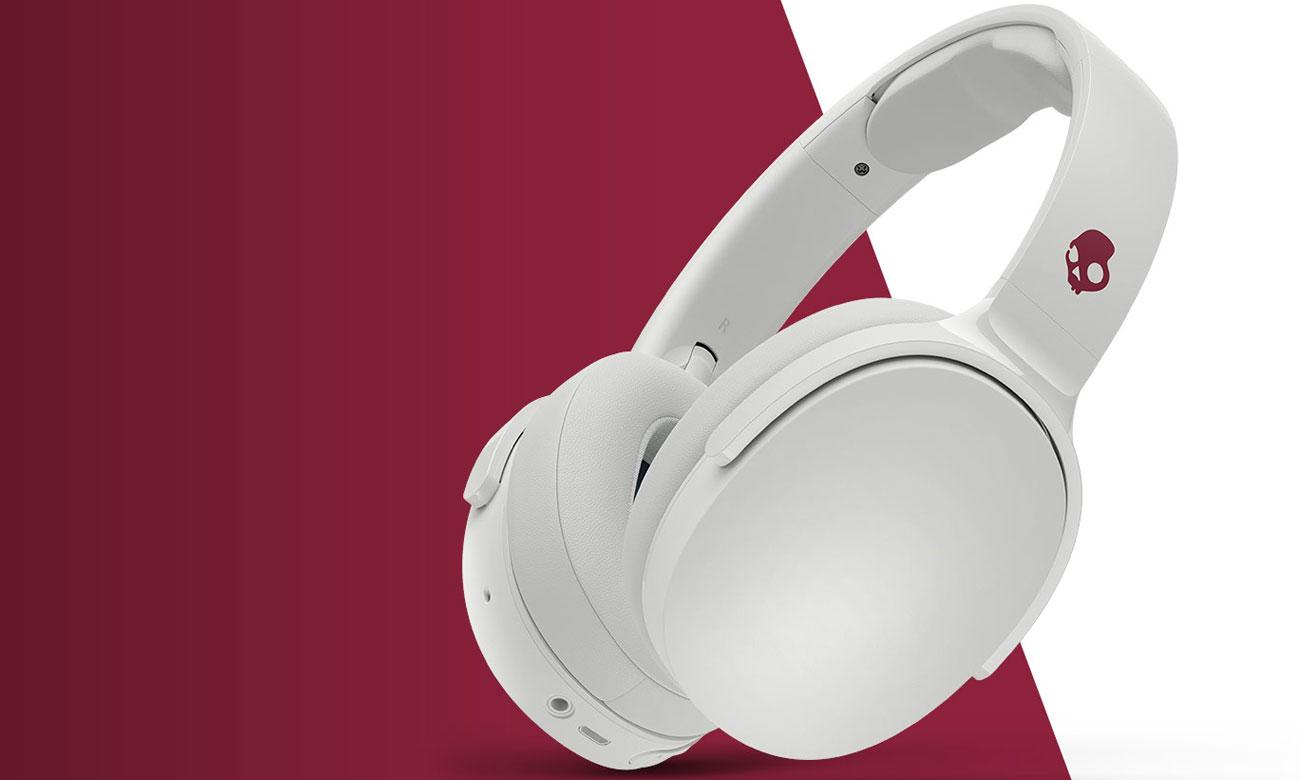 Wokółuszne słuchawki bezprzewodowe Skullcandy Hesh 3 białe