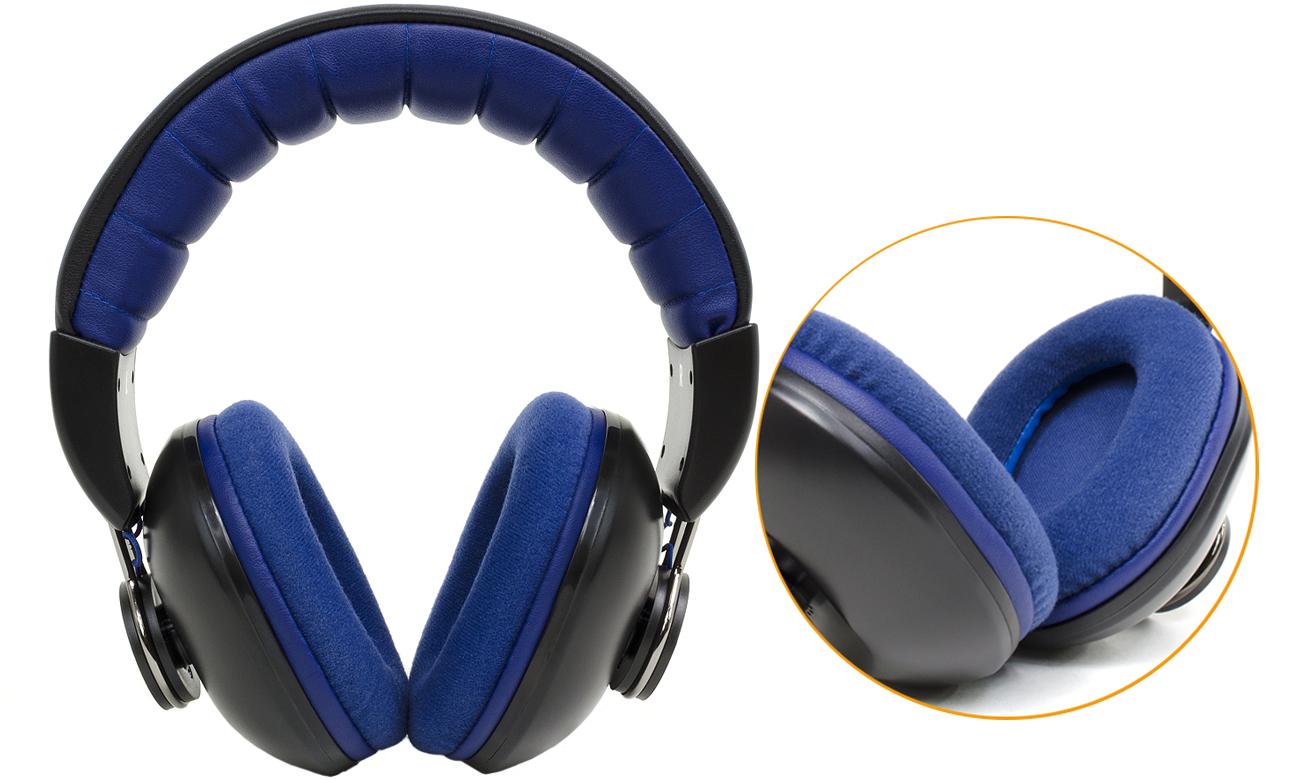 Wygodne słuchawki przewodowe Snab Overtone HS-42M