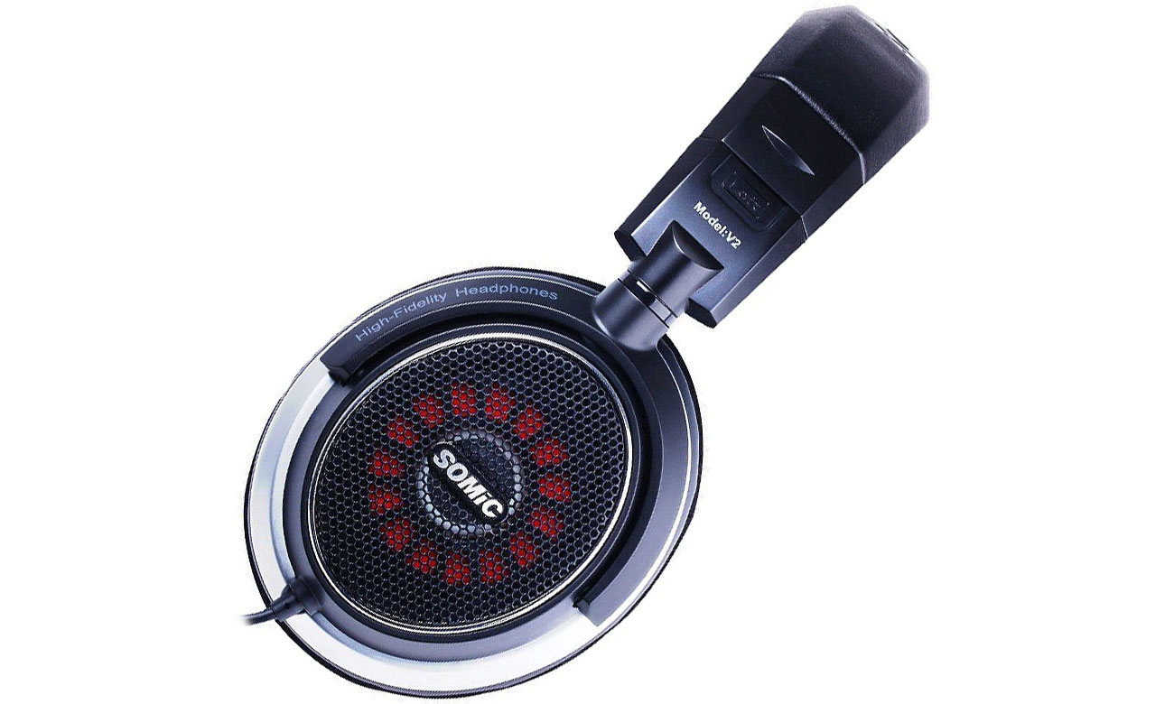 Słuchawki nauszne Somic V2 czarne