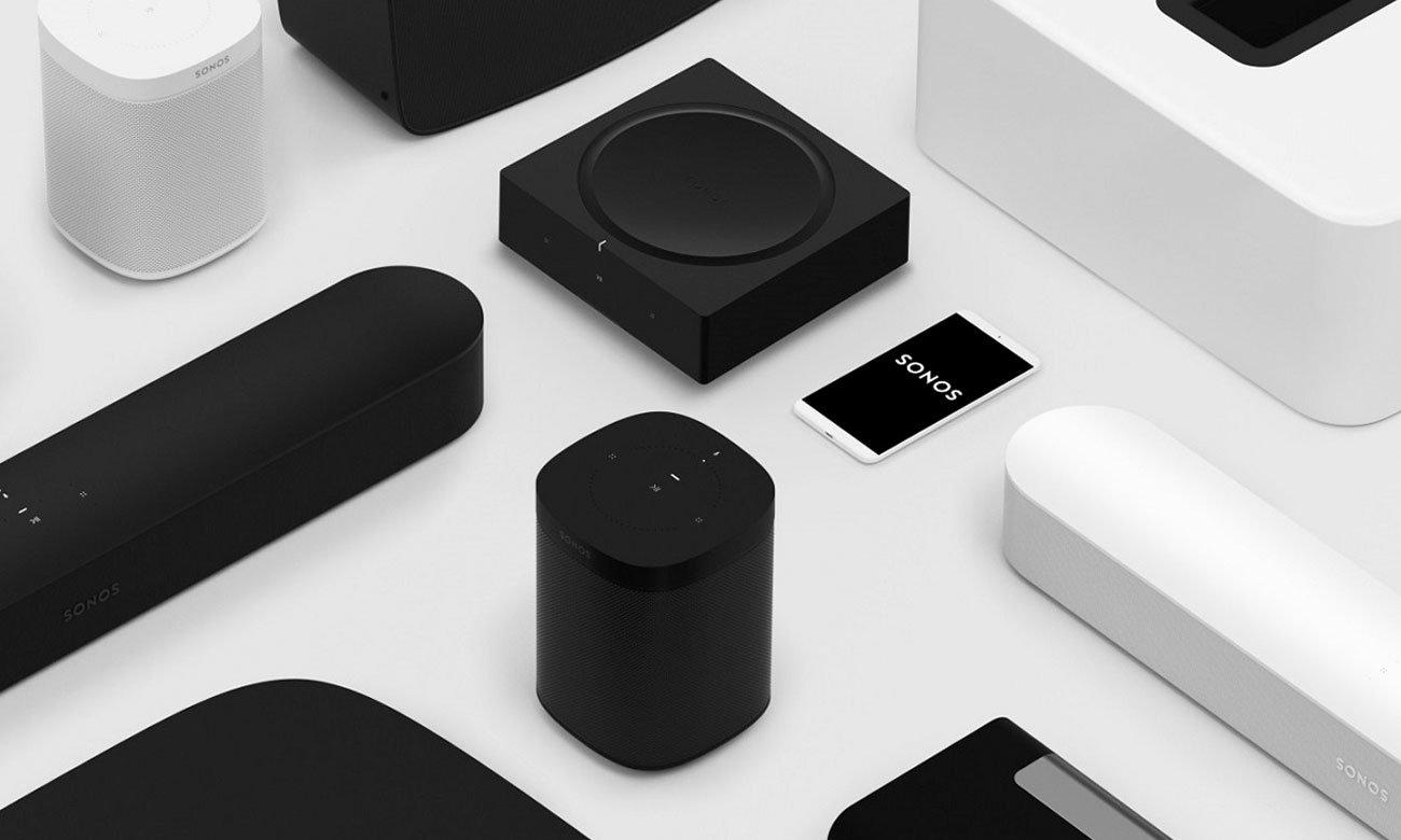 Konfiguracja i aplikacja do amplitunera Sonos AMP