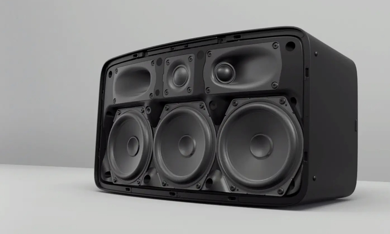 Brzmienie głośnika Sonos Five