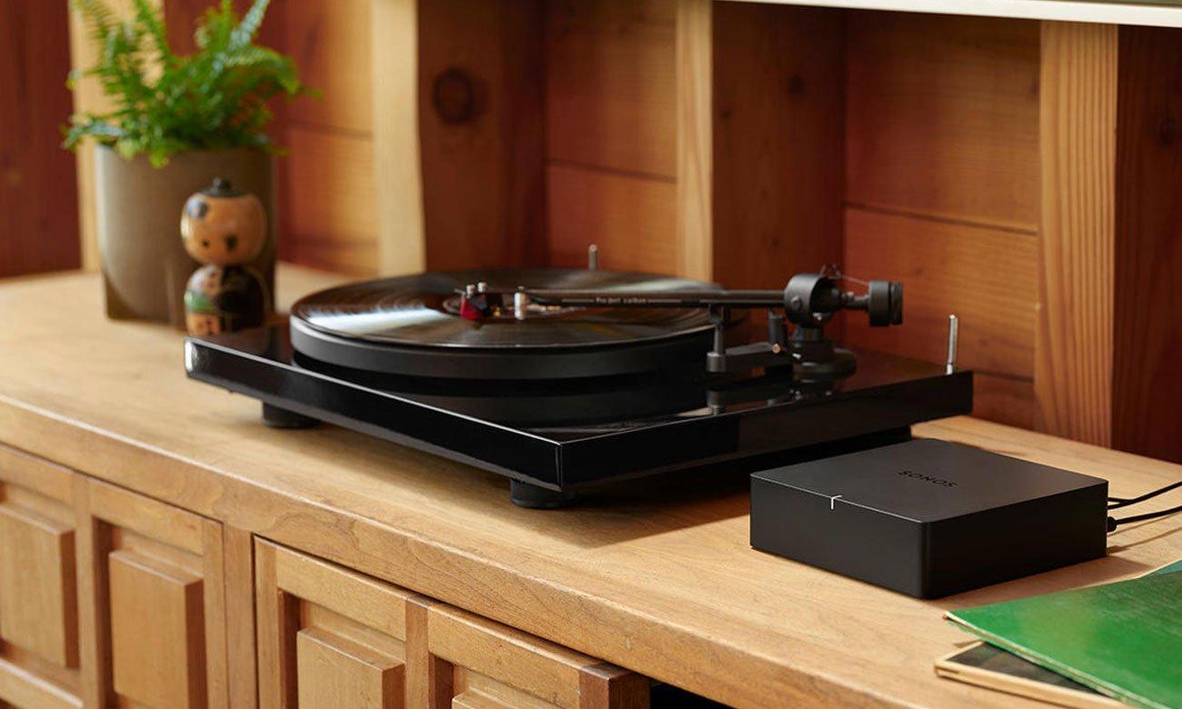 System Multiroom z odtwarzaczem strefowym Sonos Port