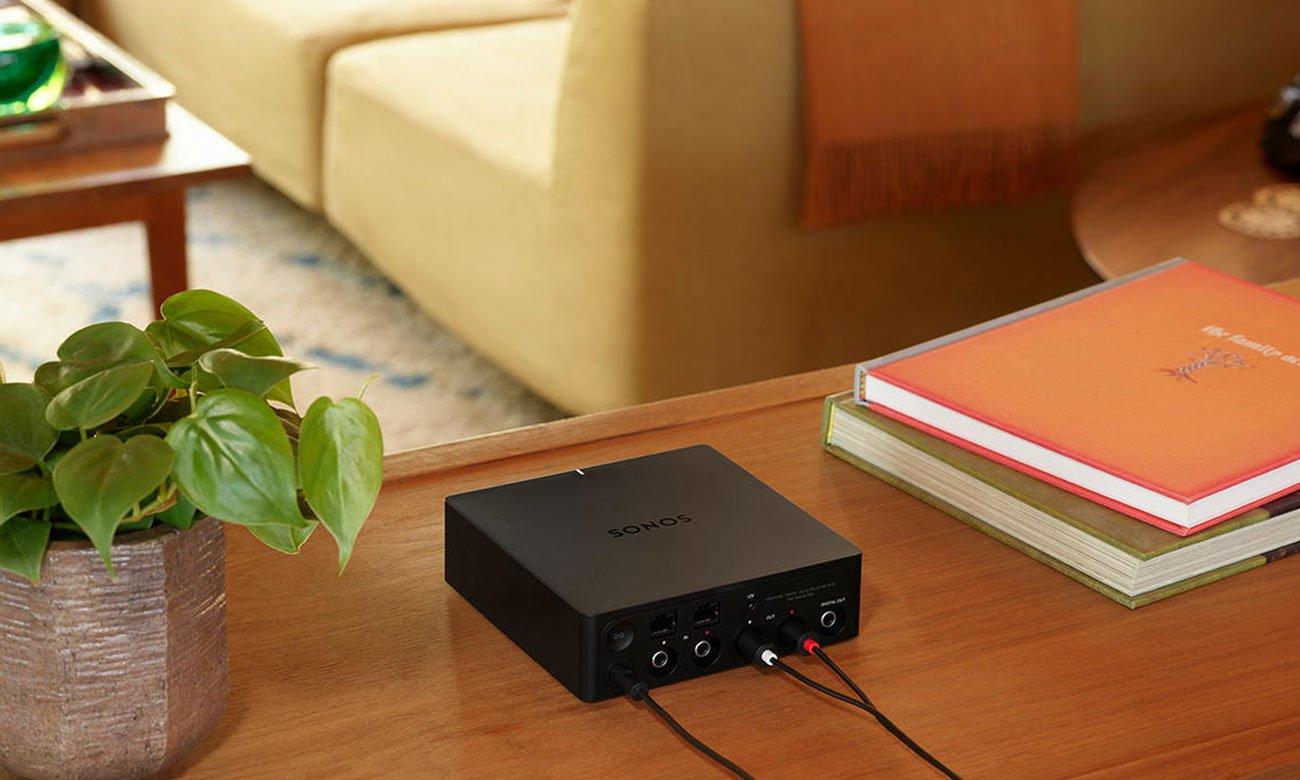 Konfiguracja i aplikacja do odtwaracza strefowego Sonos Port