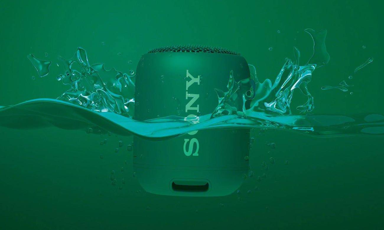 Wodoodporny głośnik bezprzewodowy SRS-XB12 Sony zielony