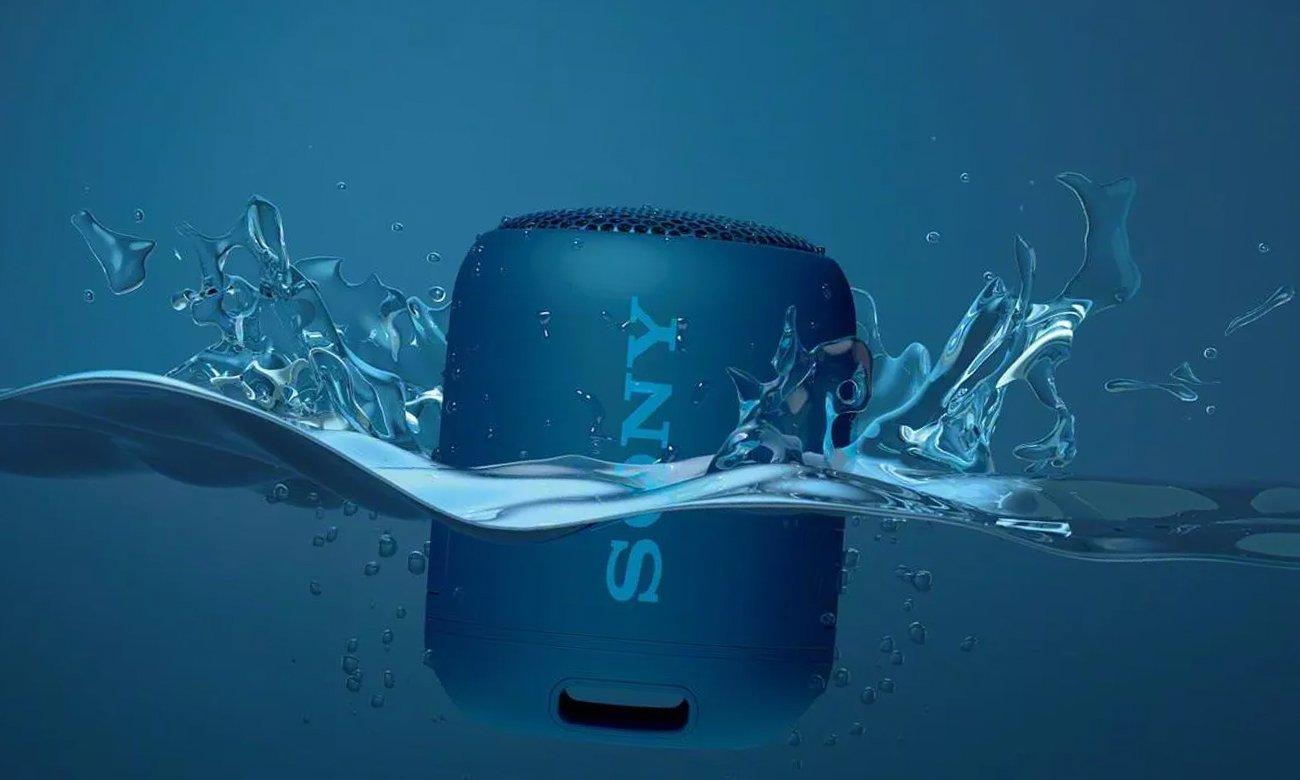 Wodoodporny głośnik bezprzewodowy SRS-XB12 Sony niebieski