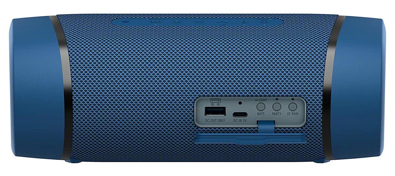 Specjalna aplikacja Fiestable do zarządzania Sony SRS-XB33
