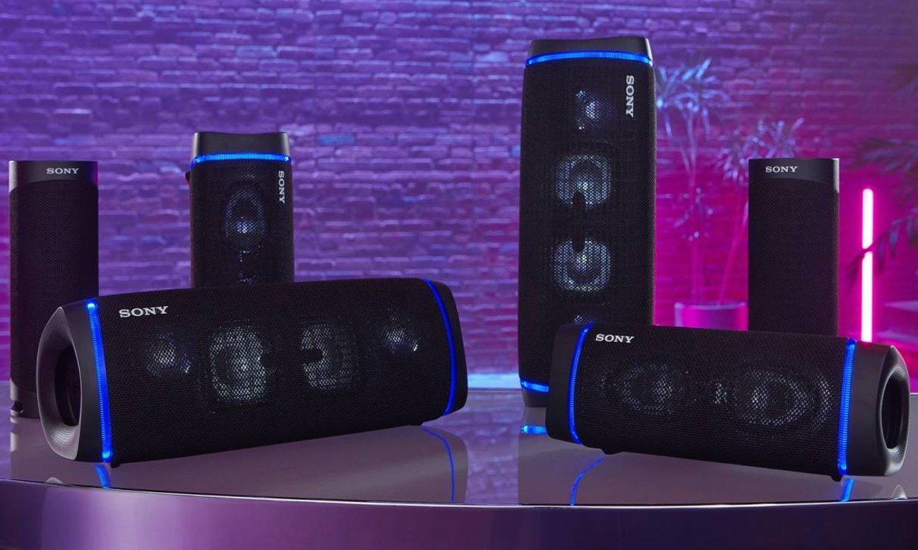 Głośnik Sony SRS-XB43 z funkcją Party Connect<