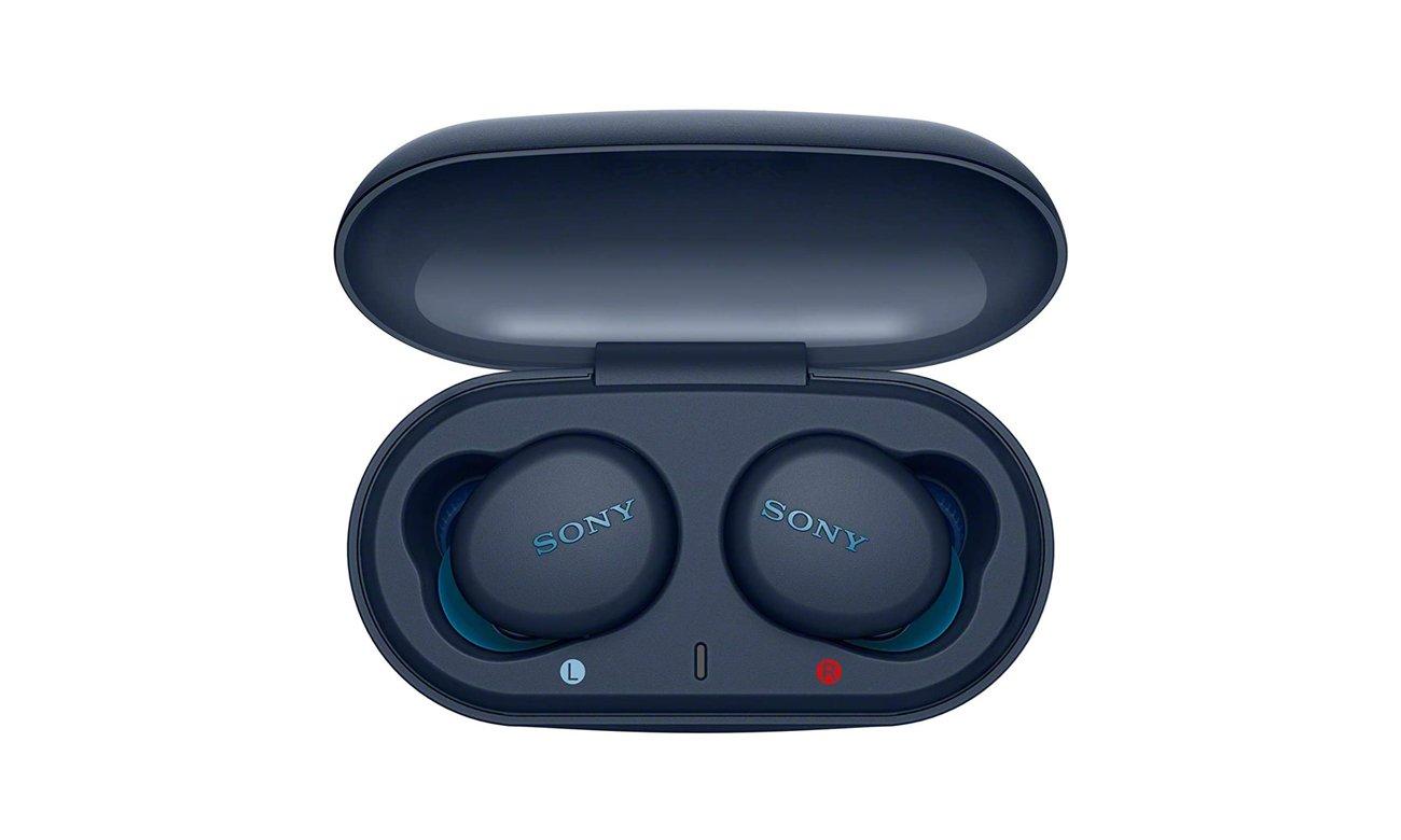 Pojemna bateria i wygoda z bezprzewodowymi słuchawkami dokanałowymi Sony WF-XB700L