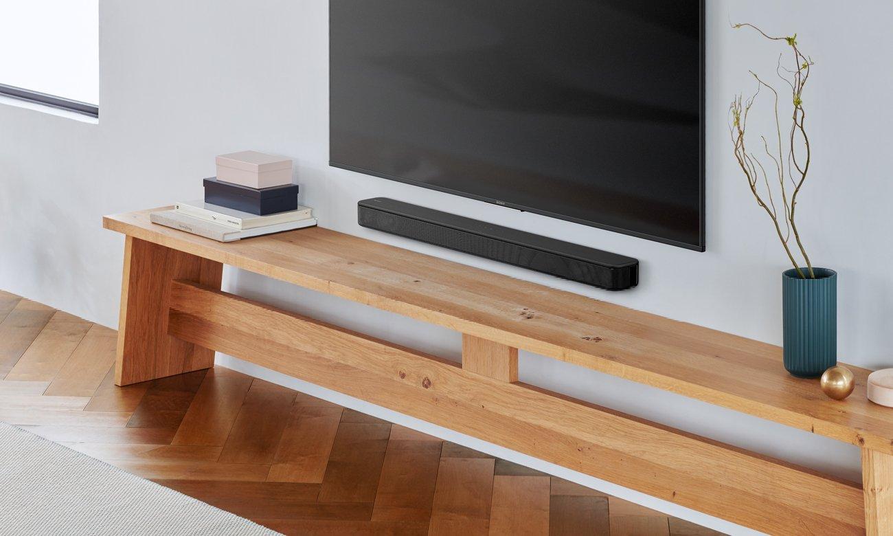Czarny soundbar Sony HT-SF150 o mocy 120 W