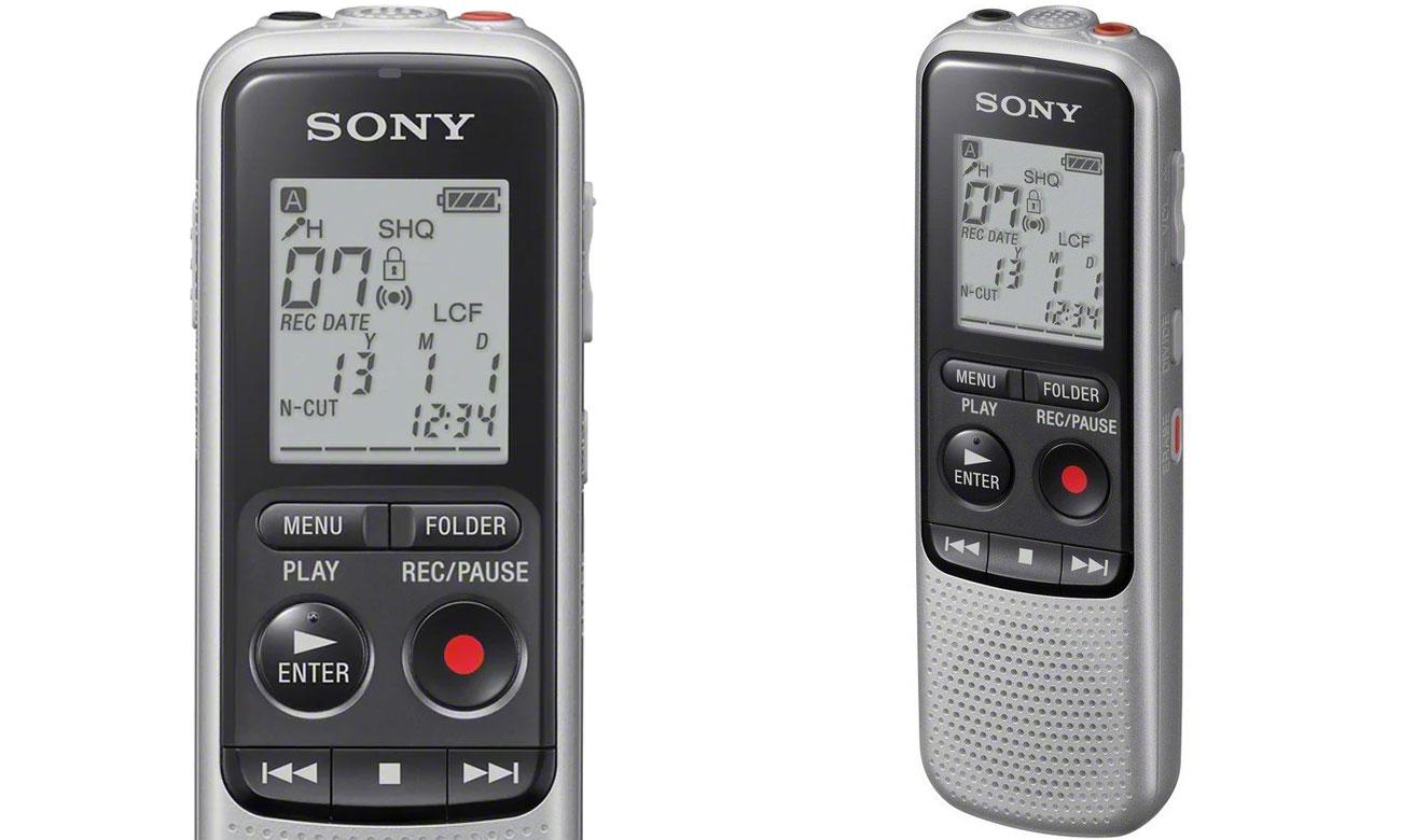 Niewielki dyktafon Sony ICD-BX140