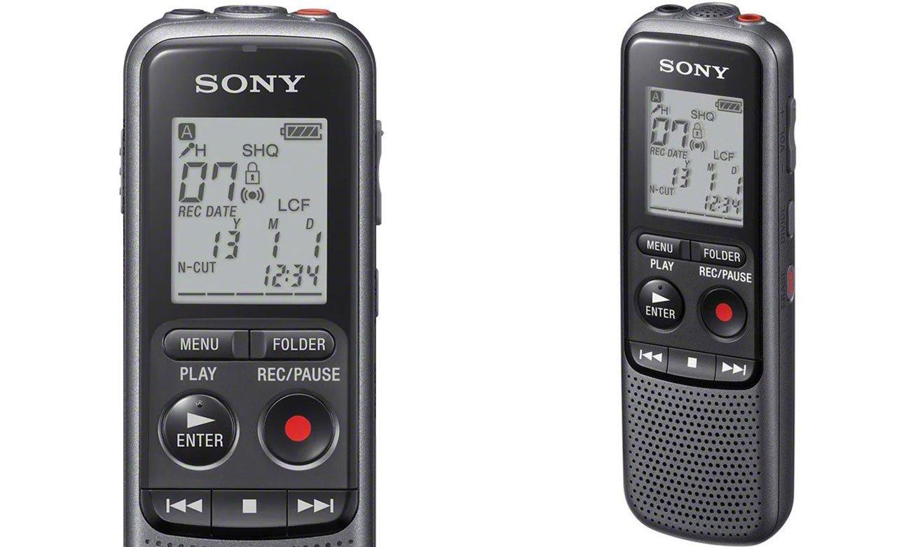 Funkcjonalny dyktafon Sony ICD-PX240