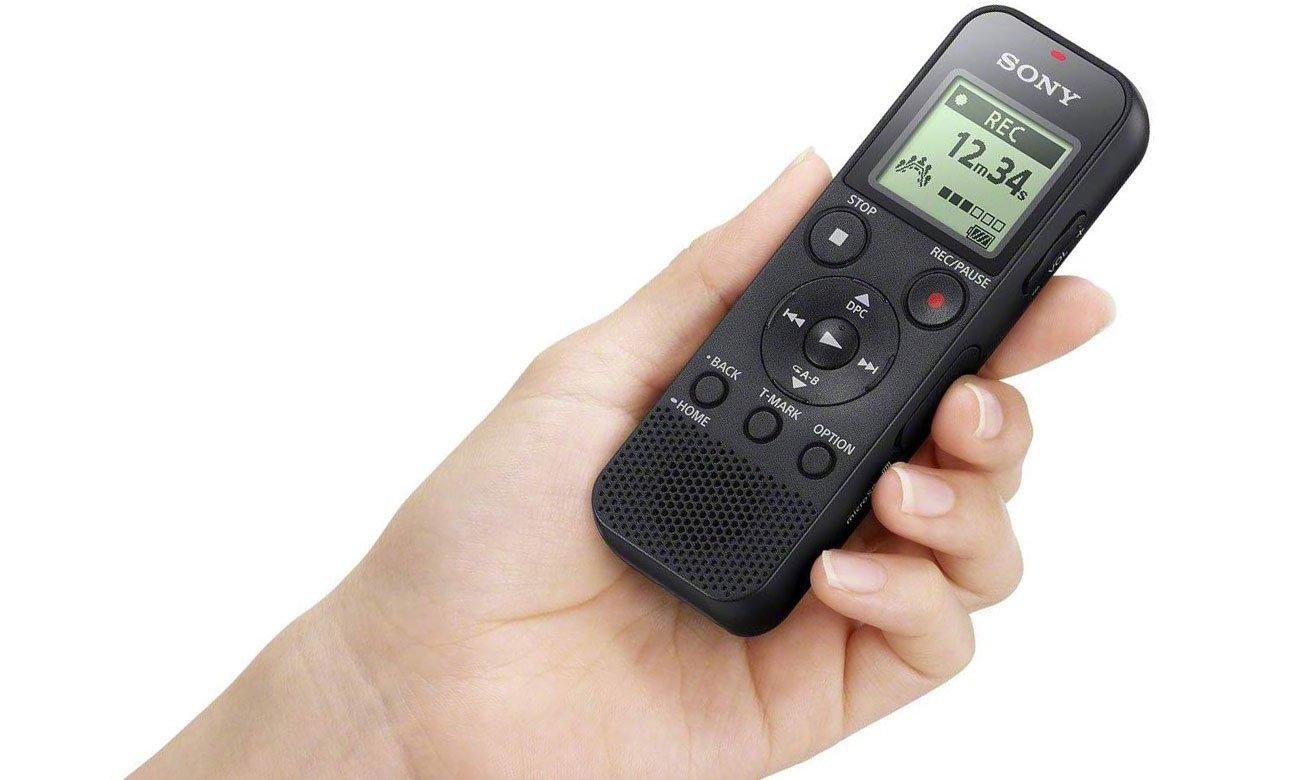 Niewielki dyktafon Sony ICD-PX370