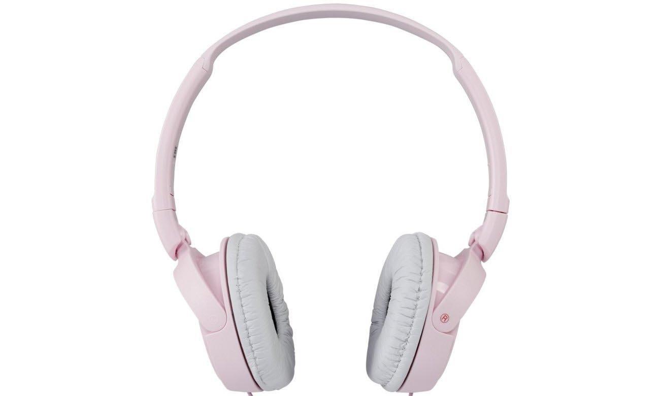 doskonały dźwięk z Sony MDR-ZX110AP Pink